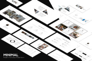 Minimal Powerpoint Template Graphic Presentation Templates By luckysign