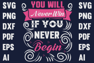 Motivational Typography Design Graphic Print Templates By rumanaakhi.alam