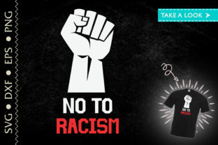 Print on Demand: No to Racism History Black Lives Matter Graphic Crafts By Tweetii
