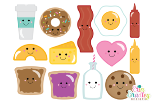 Print on Demand: Perfect Pairs Clipart Graphic Illustrations By Erin Bradley Designs