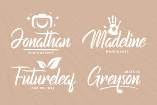 Print on Demand: Roundtable Script & Handwritten Font By CalligraphyFonts 10