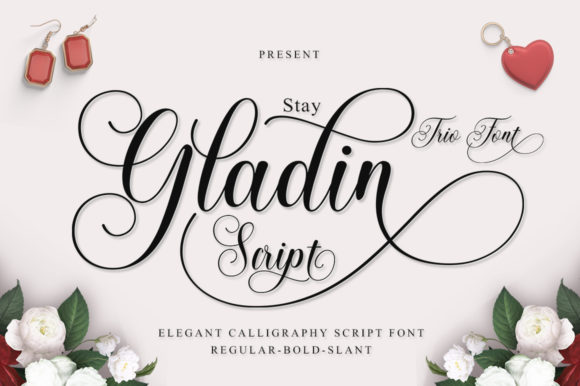 Print on Demand: Stay Gladin Script & Handwritten Font By IM Studio