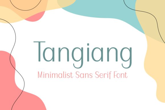 Print on Demand: Tangiang Sans Serif Font By Lian-7NTypes