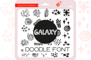 Print on Demand: Galaxy Dingbats Dingbats Font By WADLEN