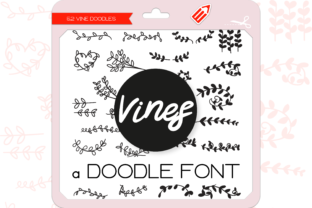 Print on Demand: Vines Dingbats Dingbats Font By WADLEN