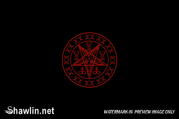 Wiccan Symbols Graphic Illustrations By shawlin
