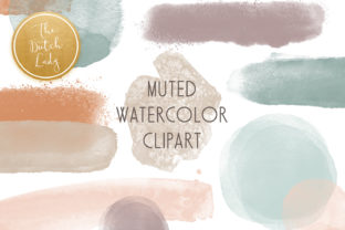 Print on Demand: Abstract Watercolor Clipart Set Graphic Crafts By daphnepopuliers