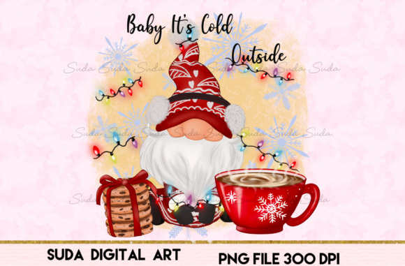 Print on Demand: Baby Christmas Sublimation Graphic Illustrations By Suda Digital Art