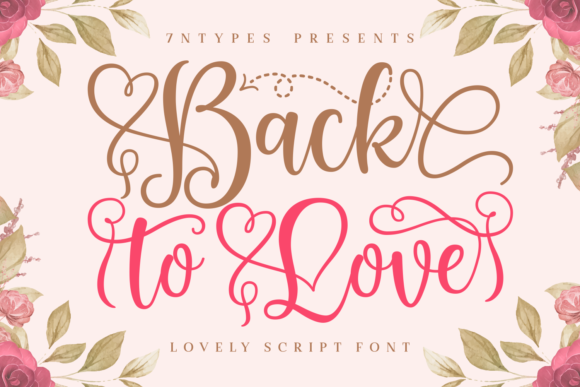Print on Demand: Back to Love Script & Handwritten Font By Situjuh