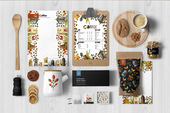 Watercolor Coffee Illustrations Graphic Graphic
