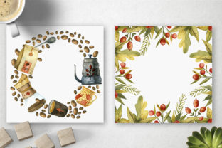 Print on Demand: Watercolor Coffee Illustrations Graphic Illustrations By By Anna Sokol 5