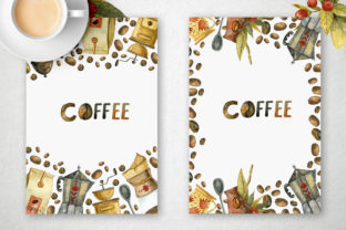 Print on Demand: Watercolor Coffee Illustrations Graphic Illustrations By By Anna Sokol 6