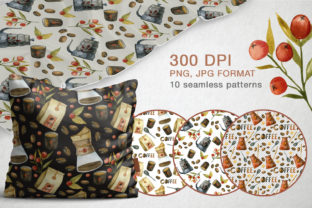 Print on Demand: Watercolor Coffee Illustrations Graphic Illustrations By By Anna Sokol 8