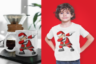 Dabbing Santa Clause Graphic Illustrations By Fundesings