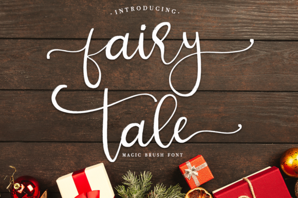 Print on Demand: Fairy Tale Script & Handwritten Font By enyaaa90