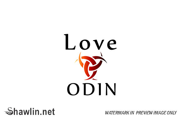 Love Odin- Symbol of the Horns of Odin Graphic Graphic Templates By shawlin