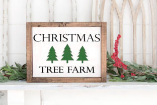 Christmas Tree Cut File Vector Art Graphic Crafts By Farmstone Studio Designs