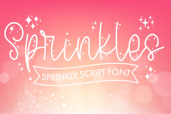 Print on Demand: Sprinkles Script & Handwritten Font By freelingdesignhouse