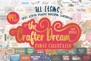 Print on Demand: The Crafter Dream Bundle Bundle By colllabstudio
