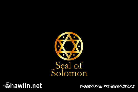 The Seal of Solomon- a Magical Symbol Graphic Icons By shawlin