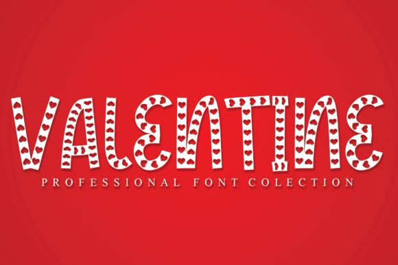 Print on Demand: Valentine Display Font By StudioA26