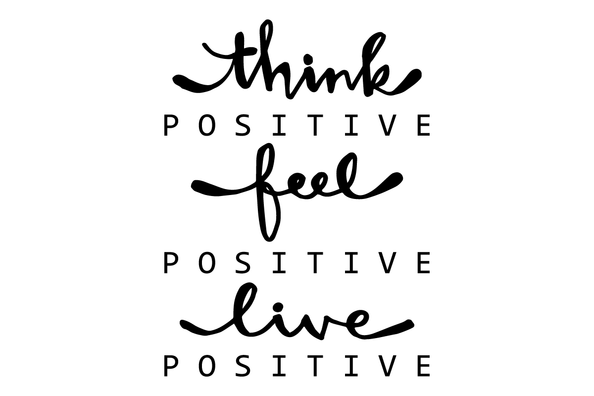 Positive Quotes SVG File