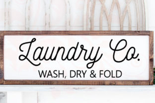 Laundry Cut File, Laundry Room Graphic Crafts By Farmstone Studio Designs