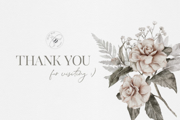 Watercolor Flower Arrangement Roses PNG Graphic Design