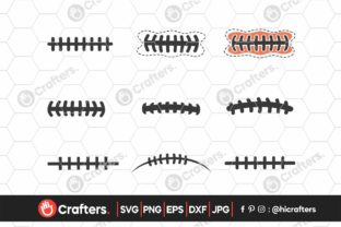 Football Laces Bundle Graphic Crafts By HiCrafters