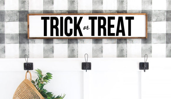 Trick Treat Halloween Cut File Graphic Crafts By Farmstone Studio Designs