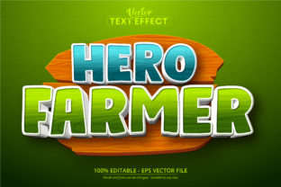 Print on Demand: Cartoon Style Editable Text Effect Graphic Layer Styles By Mustafa Beksen