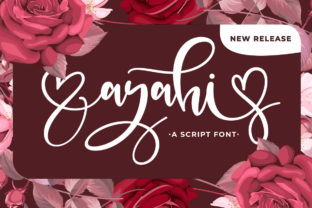 Print on Demand: Ayahi Script & Handwritten Font By Fallengraphic
