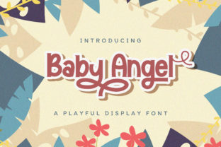 Print on Demand: Baby Angel Display Font By StringLabs