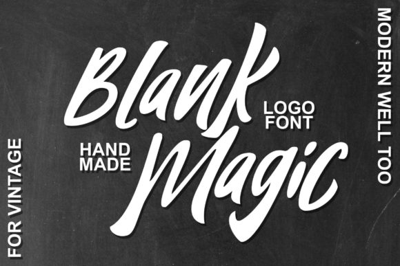 Print on Demand: Blank Magic Display Font By fontherapy