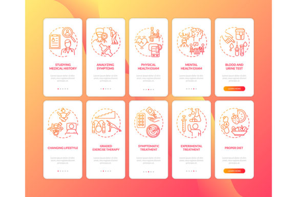 Print on Demand: CFS Diagnostics Onboarding App Pages Graphic Graphic Templates By bsd studio