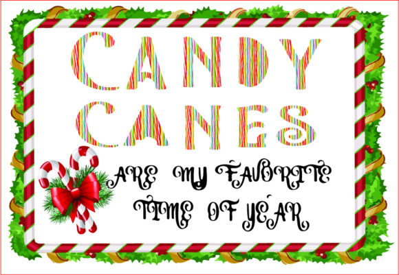 Candy Canes, Christmas Sublimation,png Graphic Graphic Templates By AlaBala