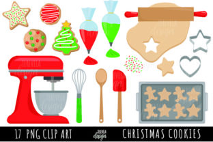 Christmas Cookies, Baking Cookies Graphic Illustrations By TereVela Design