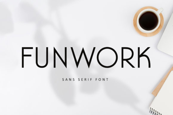 Print on Demand: Funwork Sans Serif Font By fontherapy