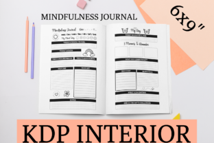 Print on Demand: Mindfulness Journal | KDP Interior Graphic KDP Interiors By KDP Mastermind