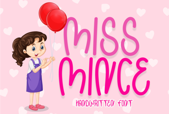 Print on Demand: Miss Mince Display Font By Sealoung