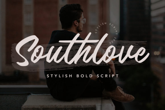 Print on Demand: Southlove Script & Handwritten Font By fontherapy