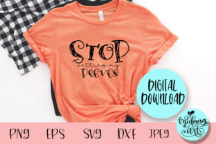 Stop Petting My Peeves Svg, Funny Svg Graphic Objects By MidmagArt