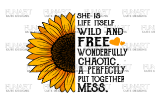 Sunflower Digital Desing / Png Flie Graphic Graphic Templates By Fundesings