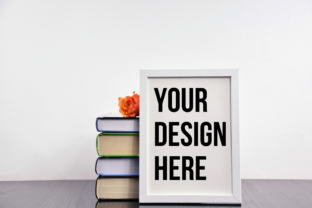 Vertical Frame Mockup, Modern Wood Graphic Photos By Photos by Doris