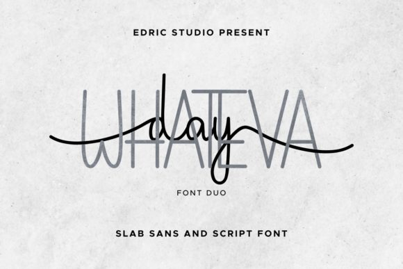 Whateva Day Font Download