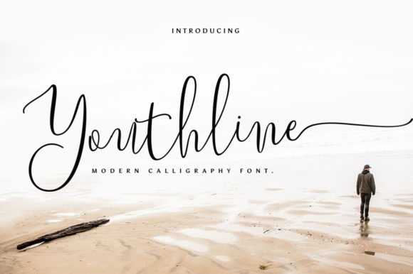 Print on Demand: Youthline Script & Handwritten Font By Sizimon