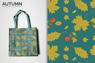 Autumn Seamless Patterns Graphic Patterns By 3Y_Design
