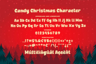 Print on Demand: Candy Christmas Display Font By Blankids Studio 6