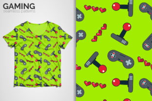 Gaming Seamless Patterns Graphic Patterns By 3Y_Design