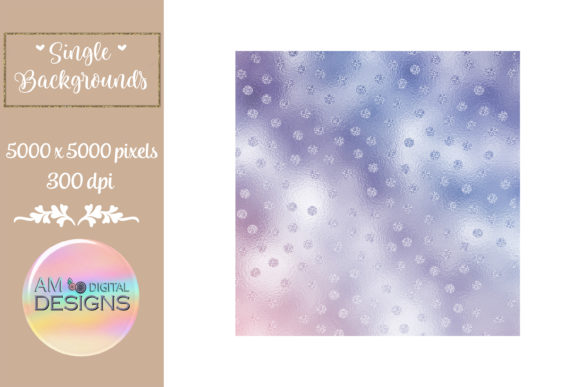 Grape Gradient Foil Polka Dots Graphic Backgrounds By AM Digital Designs